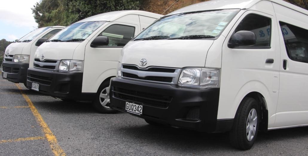 86f4cbda05 Luxury 12 seat vans available to hire. Kerikeri